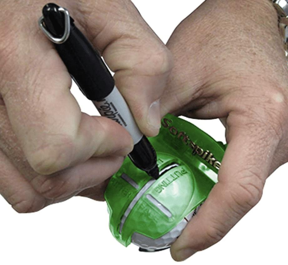 Golf Ball Alignment Tool 1