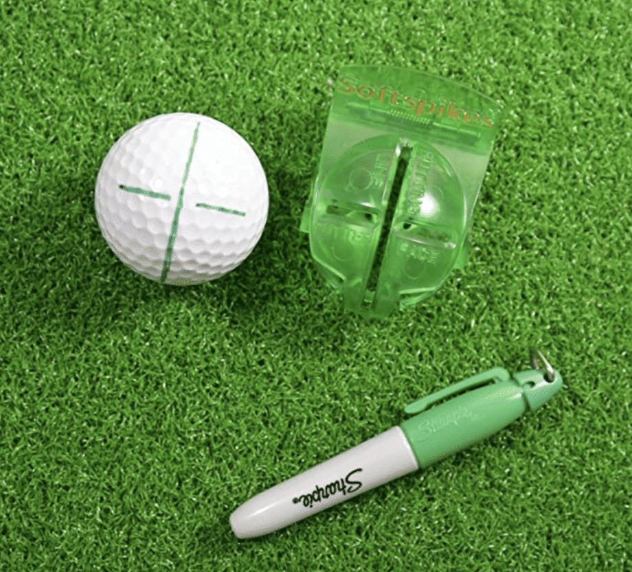 Golf Ball Alignment Tool 1 2